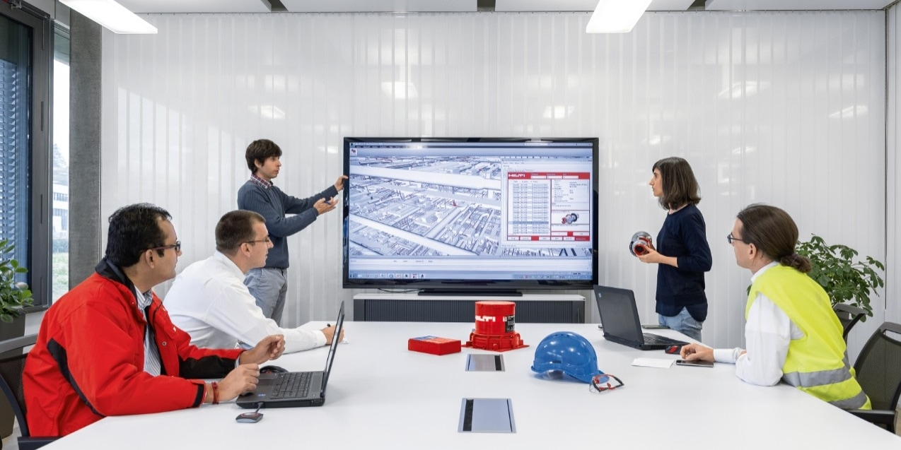 Hilti technische trainingen en seminars