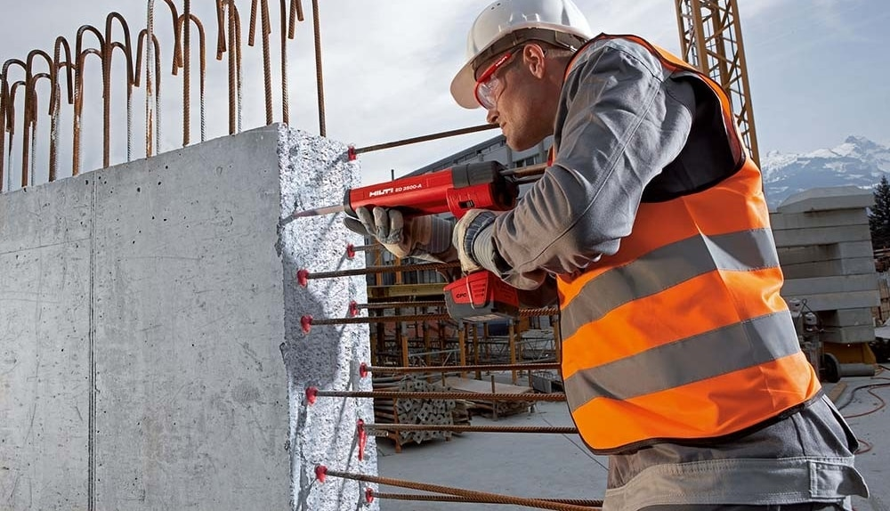 Hilti post installed rebar HIT-RE 500
