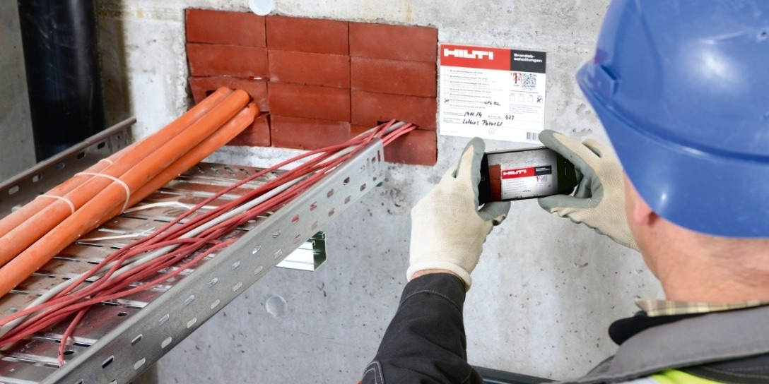 Hilti fire protection software
