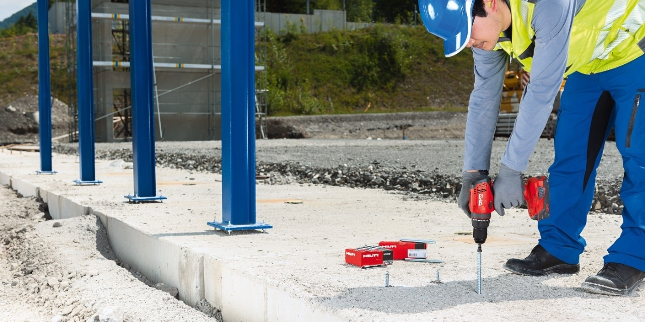 Hilti HVU2 foliecapsule ankers