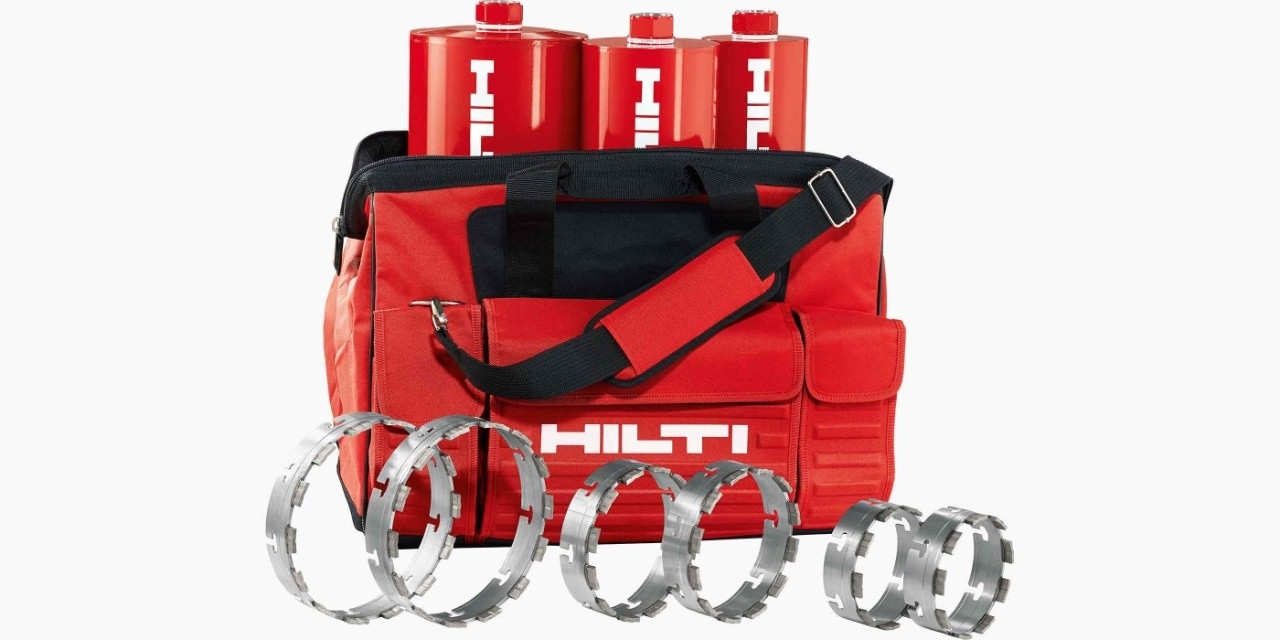 Hilti's tas met X-Change modules