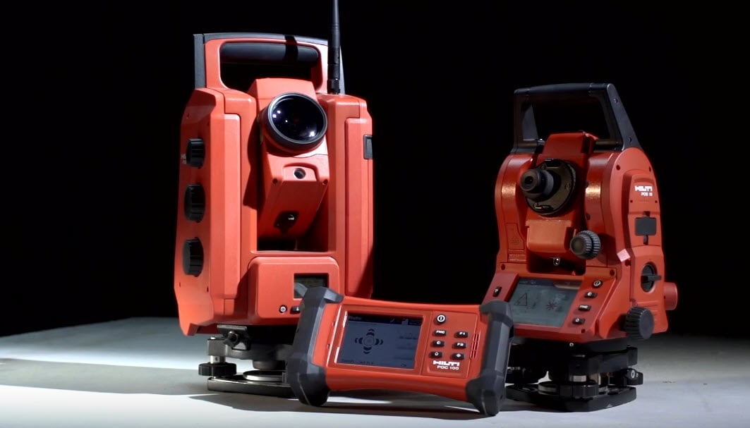 Hilti total stations