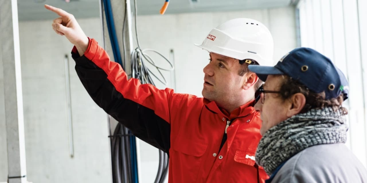 Hilti onsite engineering support