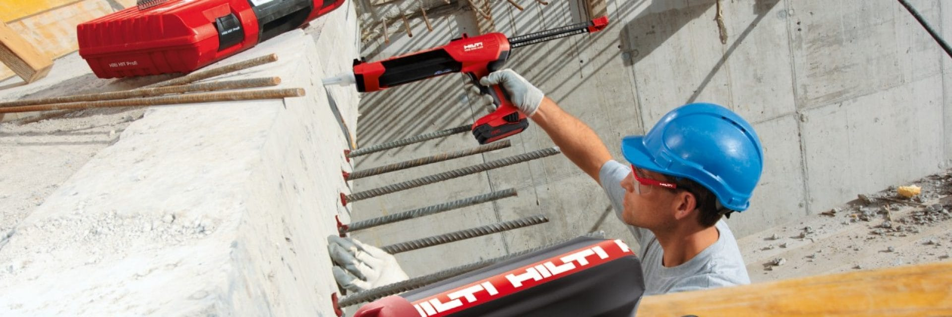 Hilti installers training for rebar installations