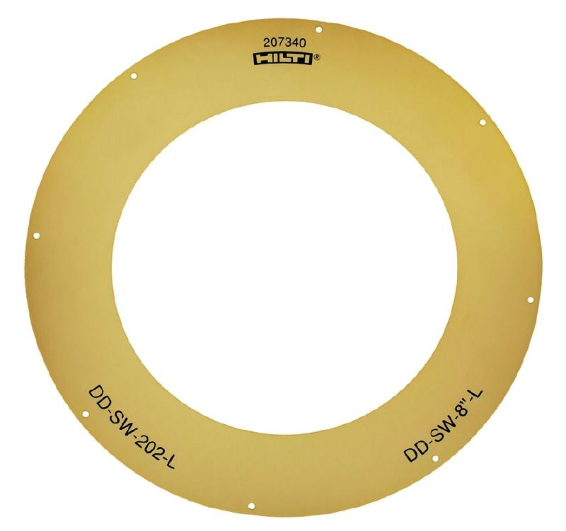DD-SW-L Afdichting voor de DD-WC-ML waterring voor diamantboordiameters van 24 mm (15/16) tot 250 mm (9 13/16)